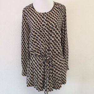 Maeve Anthropologie Geometric Dress Size Small